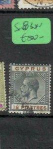 CYPRUS  (P01006B)  KGV  18  PI SG 83  VFU