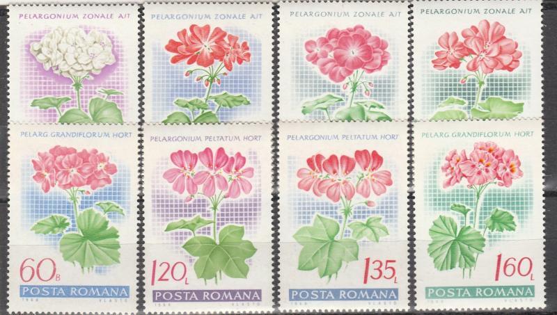 Romania #2019-26 MNH CV $2.60 (S7780L)