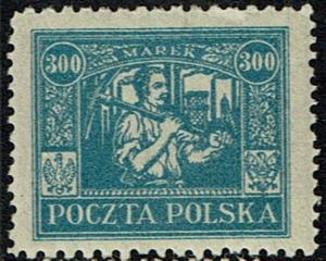 Poland Scott 190 Unused - Union with Upper Silesia (1921)