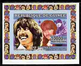 Guinea - Conakry 2006 The Beatles individual imperf delux...