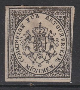 GERMANY Retourbriefe - Returned Letter Stamp - an old forgery - Munchen.....B230