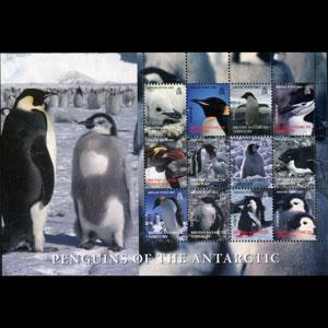 BR.ANTARCTIC TERR. 2006 - Scott# C2 Sheet-Penguins NH