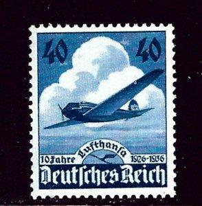 Germany 469 MLH 1936 10th Anniv of Lufthansa