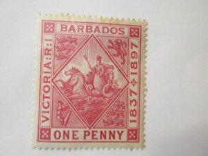 Barbados #83 MH 2019 SCV = $9.00