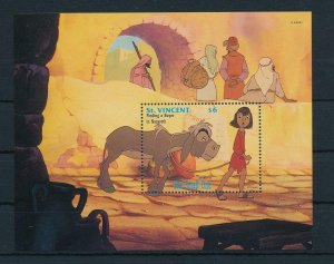 [23293] St. Vincent 1992 Disney Movie The Small One Donkey MNH