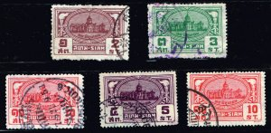 Thailand Stamp Thailand SIAM STAMP COLLECTION LOT #M3