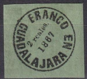 Mexico Guadalajara #5  F-VF Unused CV $250.00 (A18757)