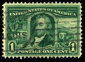 U.S. #323 Used F-VF