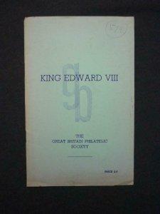 KING EDWARD VIII by Col STANTON