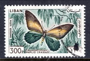 Lebanon C435 Butterfly Used VF