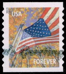 US #4770 Flag in Autumn; Used (4Stars)