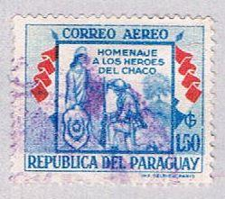 Paraguay C240 Used Republic soldier 1957 (BP30711)