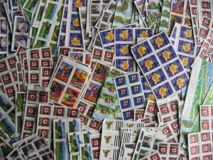 CANADA wholesale 240 used mid 1990s blocks of 4 or more, what a load here!