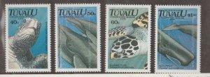 Tuvalu Scott #570-573 Stamps - Mint NH Set