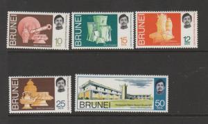 Brunei 1972 Museum MM SG 187/91