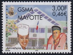 Mayotte 153 MNH (2001)