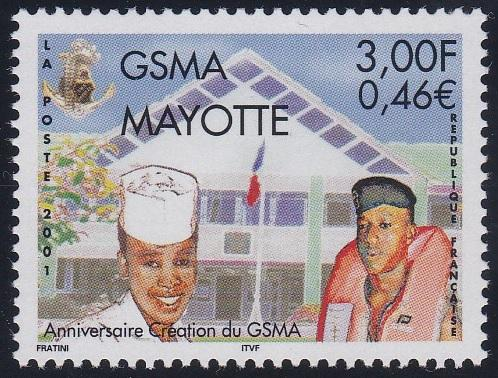 Mayotte 153 MNH (2001)
