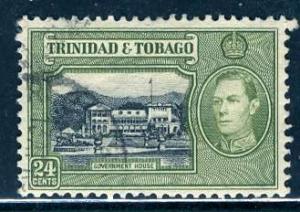 Trinidad & Tobago; 1938; Sc. # 58; O/Used Single Stamp
