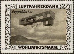 Germany Biplane WWI Air Force Doppeldecker Box Luftfahrerdank Flight MNH G102809