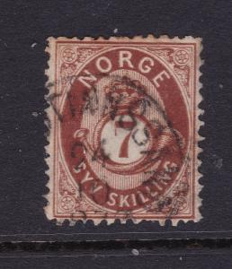 Norway an old 7Sk used from 1872