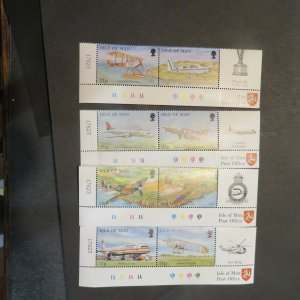 Isle of Man 774-781 Mint NH, OG VF 1997  Cv. $6.40