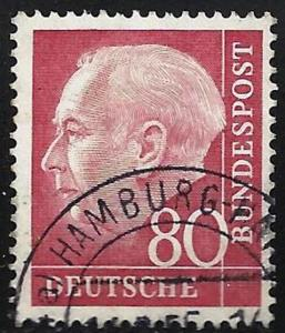 Germany 1954 Scott # 717 Used