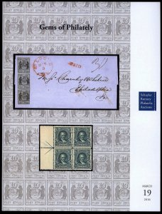 Schuyler Rumsey catalog: Sale 66 Gems of Philately March 2016