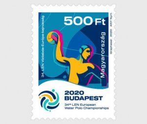 H01 Hungary 2020 34th Len European Water Polo Championships MNH Postfrisch