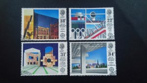 Great Britain 1987 EUROPA Stamps - Modern Architecture Used