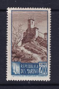 San Marino a MNH 200L from the 1949 series