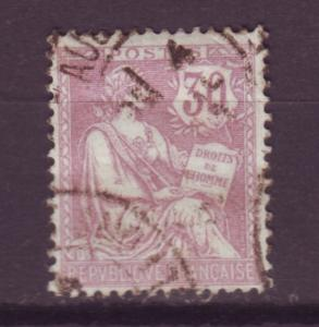 J16230 JLstamps 1902 france used #137 rights of man