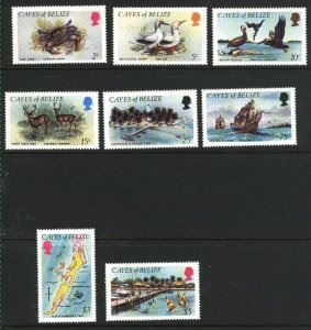 Belize-Cayes of #2-9   Mint NH VF 1984  PD