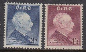 Ireland 157-8 Redmond mnh