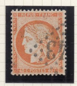 France 1870-71 Ceres Early Issue Fine Used 40c. 269784