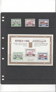Iraq 333-5a  MNH Freedom From Hunger
