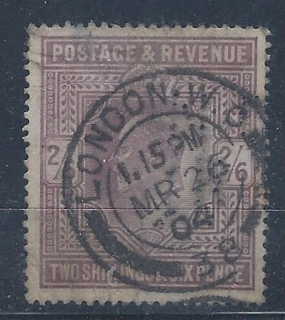 GREAT BRITAIN #139  USED  SCV $150.00 AT 15% OF CAT VALUE