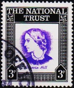 Great Britain(National Trust). Date? 3p Fine Used