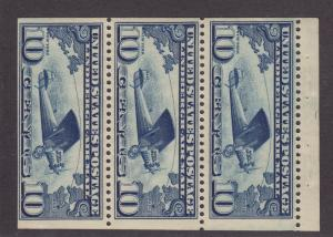 C10A VF booklet pane never hinged with nice color cv $ 115 ! see pic !