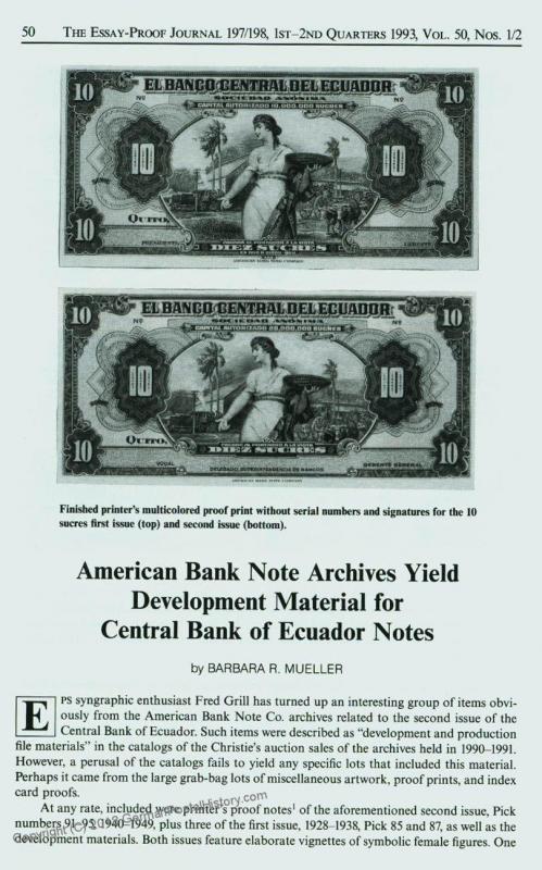 Essay-Proof Journal No197-8 Ecuador Columbians 44689