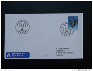 bicycle cycling world cup postmark on cover Norway 29/08/1993