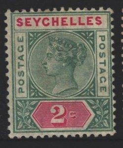 Seychelles Sc#1a MNG
