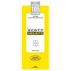 Scott Mount 105 x 265 mm  (Scott 954 Clear)