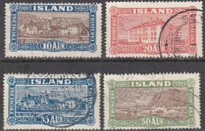 Iceland #145-8 F-VF Used CV $16.25