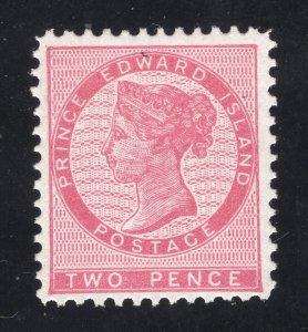 Prince Edward Island #5 - 2 Pence, Rose - Unused - O.G. - L.H.