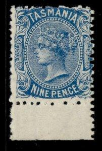 AUSTRALIA - Tasmania QV SG148, 9d blue, M MINT. Cat £30. PERF 11½
