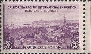 # 773 MINT NEVER HINGED CALIFORNIA PACIFIC EXPOSITION