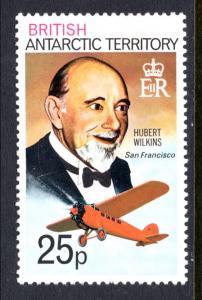 British Antarctic Territory 57 Airplane MNH VF