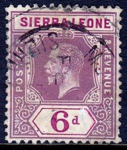 Sierra Leone - Scott #111 - Used - Faults - SCV $6.75