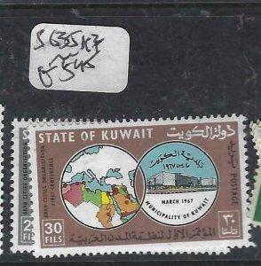 KUWAIT (P2406B)    SG 635A-B    MNH