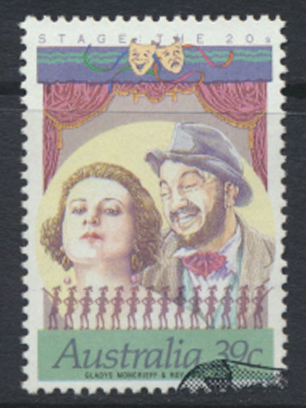 Australia SG 1208a Used  perf 14 x 13½ SC# 1142a w/ first day issue cancel s...